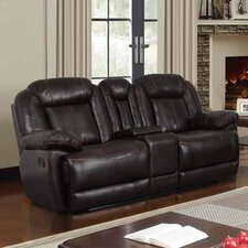 "Console 82"" Reclining Loveseat"