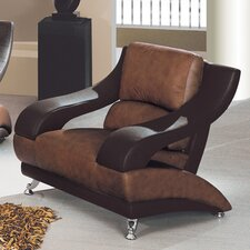 <strong>Global Furniture USA</strong> Zoe Leather Chair