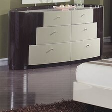 New York 6 Drawer Dresser