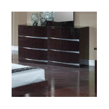 <strong>Global Furniture USA</strong> Aurora 6 Drawer Dresser