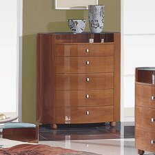 <strong>Global Furniture USA</strong> Evelyn 5 Drawer Chest