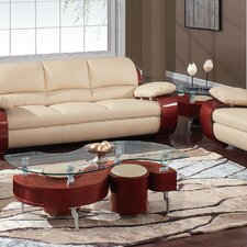 <strong>Global Furniture USA</strong> Sarah Coffee Table Set