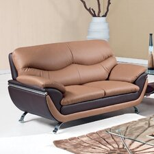 <strong>Global Furniture USA</strong> Leather Loveseat