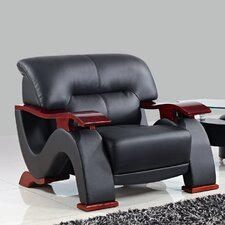 <strong>Global Furniture USA</strong> Leather Chair