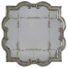 <strong>Uttermost</strong> Prisca Etched Mirror in Distressed Silver Leaf