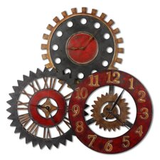 "<strong>Uttermost</strong> Oversized 35.25"" Movements Clock"