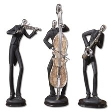 Musicians Accessories Statues (Set of 3)