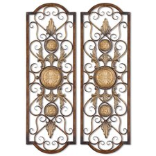 2 Piece Micayla Panels Wall Décor Set