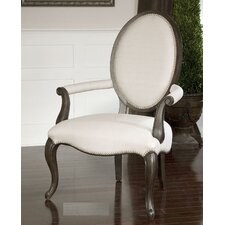 <strong>Uttermost</strong> Anne Linen Occasional Arm Chair
