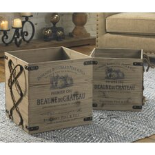 Bouchard 2 Piece Crate Set