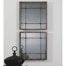 <strong>Uttermost</strong> Saragano Square Mirror (Set of 2)