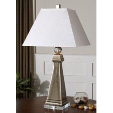 """Colobraro 30.5"""" H Table Lamp with Square Shade"""