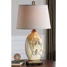 """Pajaro 32.5"""" H Table Lamp with Oval Shade"""