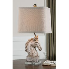 """Rathin 25.5"""" H Table Lamp with Rectangle Shade"""