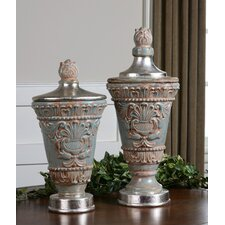 Deniz 2 Piece Urn Set