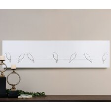 Gossiping Birds Wall Art