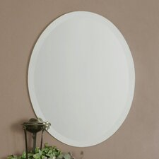 <strong>Uttermost</strong> Frameless Vanity Oval Mirror