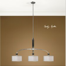 Vanalen 3 Light Drum Pendant