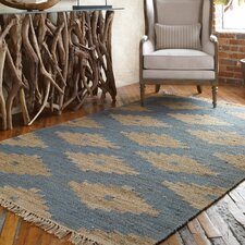 Asmae Blue/Tan Area Rug
