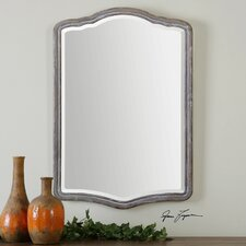 Amedea Aged Wood Mirror
