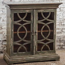 Duran Distressed Console Cabinet