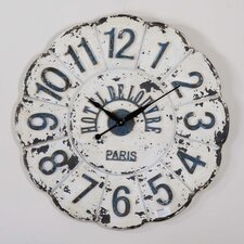 "Oversized 31.5"" De Louvre Wall Clock"