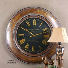 "<strong>Uttermost</strong> Oversized 47"" Tyrell Wall Clock"