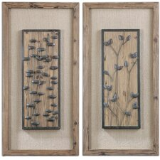 <strong>Uttermost</strong> 2 Piece Chinook Wall Décor Set