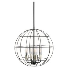 Peri 4 Light Globe Pendant