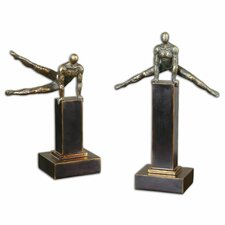 Pommel 2 Piece Sculptures