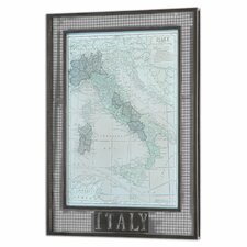Italy Map by Grace Feyock