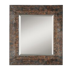 Jackson Rustic Metal Framed Mirror