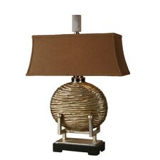 "Rhona 28"" H Table Lamp with Rectangle Shade"