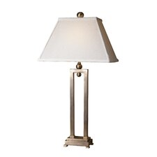 "Conrad 29"" H Table Lamp with Rectangle Shade"