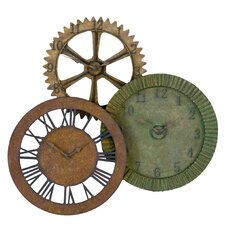 "Oversized 33"" Wall Clock"