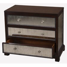 Jayne Accent 3 Drawer Chest