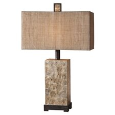 "29"" H Table Lamp with Rectangle Shade"