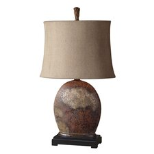 """Yunu 30"""" H Table Lamp with Bell Shade"""