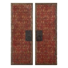 Red Door Panel Wall Art by Moon, Billy (Set of 2)