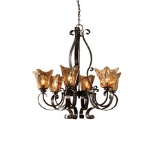 Vetraio 6 Light Chandelier