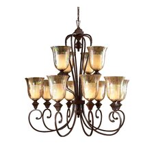 Elba 12 Light Chandelier
