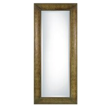 <strong>Uttermost</strong> Shayna Rectangular Beveled Mirror in Chestnut Brown