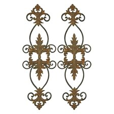 Lacole Decorative Metal Wall Art (Set of 2)