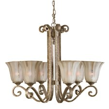 <strong>Uttermost</strong> Lyon 6 Light Chandelier