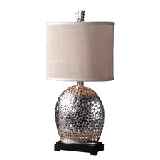 "Harrison 29"" H Table Lamp with Drum Shade"