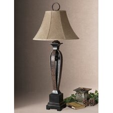 "Caballo 41"" H Table Lamp with Bell Shade"