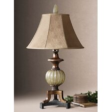 "Gavet 34"" H Table Lamp with Empire Shade"