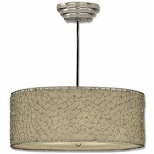 Brandon 3 Light Drum Foyer Pendant