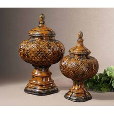 Abu 2 Piece Urns Set