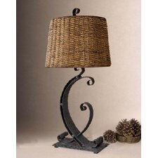 "Rendall  29"" H Table Lamp with Empire Shade"